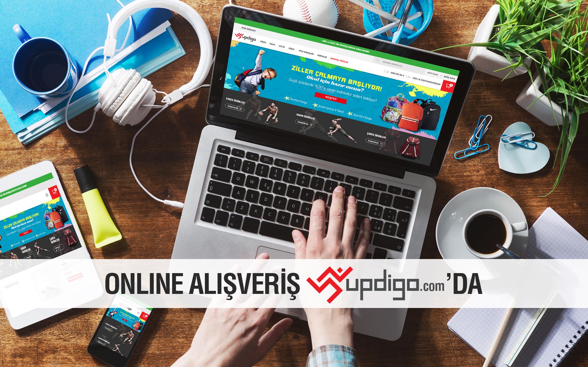 online alışveriş updigo.com'da